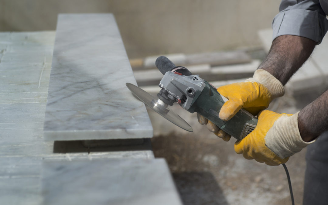 Top Tips for Cutting Stone Slabs